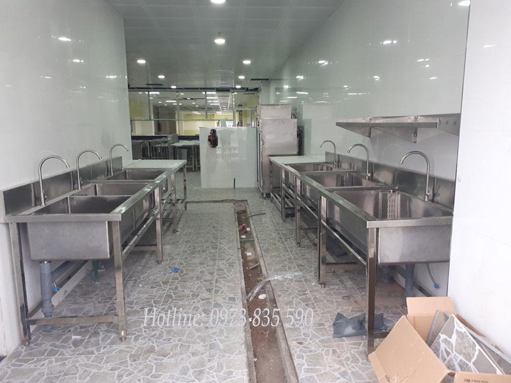 Thiết kế lắp đặt Chậu Rửa công nghiệp tại Thái Nguyên giá rẻ, uy tín