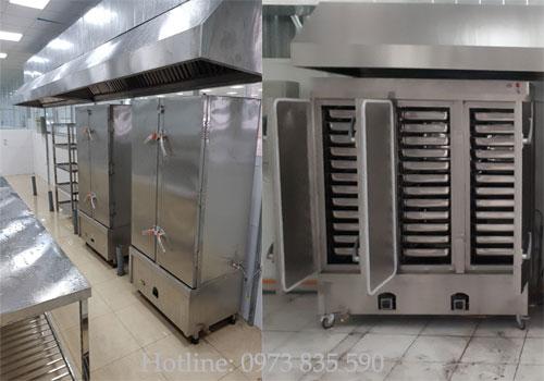 Lắp đặt tủ cơm công nghiệp